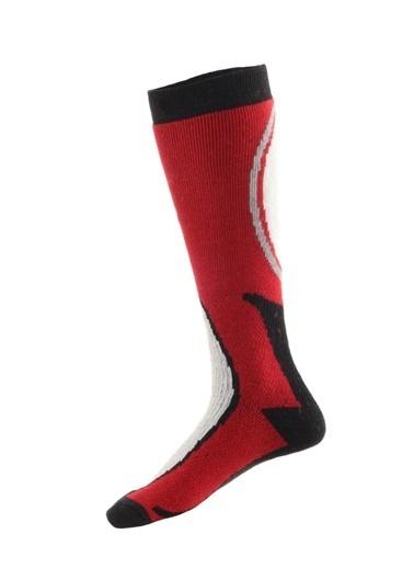 Panthzer  Ski & Snowboard Socks Kırmızı/Siyah Kırmızı